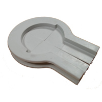 Tubing Access Cover - Light Gray